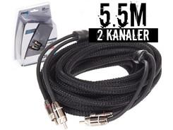 Stage3 Signalkabel 5.5 mtr, 2-kanals
