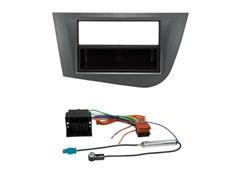 1DIN Radiokit SEAT (Leon), mørkegrå