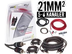 21mm² kabelsæt m. 3 stk signalkabler