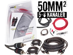 50mm² kabelsæt m. 3 stk signalkabler