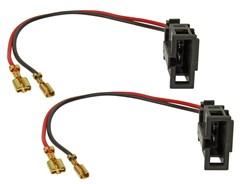 Højttalerstik VW Dørhøjttalere m. kabel, 2 stk