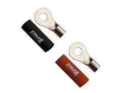 Ringkabelsko 10mm², 2 stk, Rød/Sort - M6