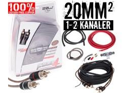 20mm² OFC kabelsæt m. 1 stk signalkabel