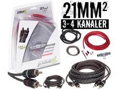 21mm² kabelsæt m. 2 stk signalkabler