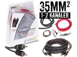 35mm² kabelsæt m. 1 stk signalkabel