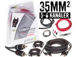 35mm² kabelsæt m. 3 stk signalkabler
