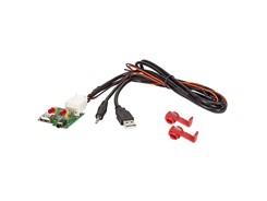 PCB Printmodul m. USB- og AUX-indgang til KIA / HYUNDAI (MiniJack)