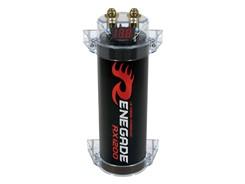 Renegade Powerkondensator 1.2F m. display, Sort