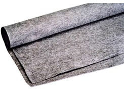 Filt, Lys grå A93, 136 cm x 210 cm
