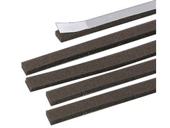 Skumlister til højttalere, 5mm, 150cm, 5 stk