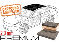 Støjdæmpepakke Premium - TAG
