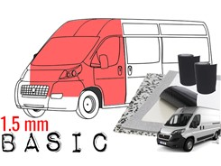 Støjdæmpepakke Basic - VAREBIL (Kabine)
