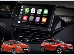 "Peugeot 208/2008 (2012-2019) 6.8"" Pioneer Touch-skærm"